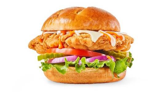 Buffalo Ranch Chicken Sandwich from Buffalo Wild Wings - Milwaukee Water St in Milwaukee, WI
