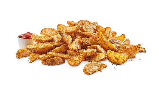 Large Potato Wedges from Buffalo Wild Wings - Milwaukee Water St in Milwaukee, WI