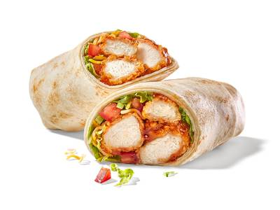 Classic Chicken Wrap from Buffalo Wild Wings - Oshkosh (156) in Oshkosh, WI