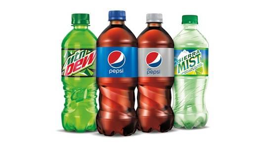Bottled Soda (20 oz) from Buffalo Wild Wings - University (414) in Madison, WI