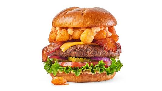 Cheese Curd Bacon Burger from Buffalo Wild Wings - Wausau in Wausau, WI