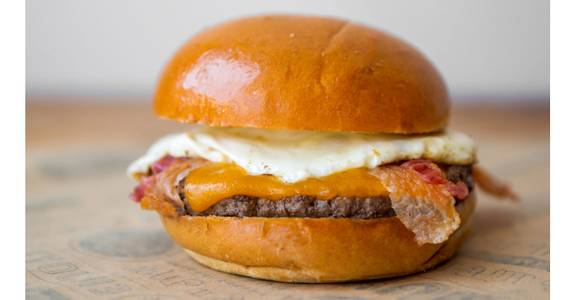 4. Breakfast Burger from Burger N Buns in Forest Grove, OR