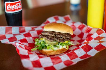 Bigg's Hamburger from Burgers by Biggs in Lawrence, KS