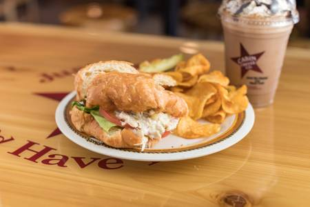 #4 Chicken Salad Sandwich from Cabin Coffee Co. in Altoona, WI