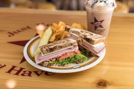 #5 Cabin Club Sandwich from Cabin Coffee Co. in Altoona, WI