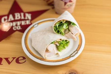 Chipotle Chicken Wrap from Cabin Coffee Co - Ames in Ames, IA