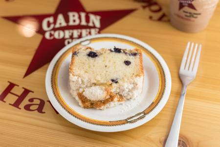 Coffee Cake from Cabin Coffee Co. in Altoona, WI