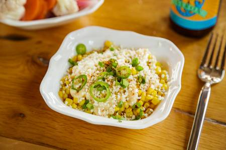 Mexican Street Corn from Canteen in Madison, WI