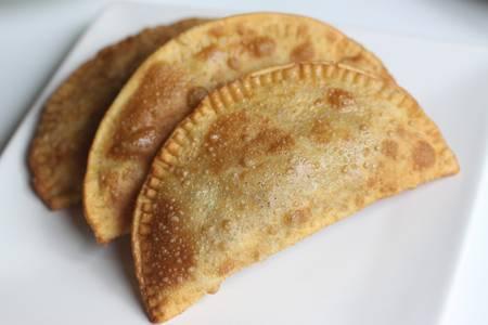 La Gorda Empanada from Caracas Empanadas in Madison, WI
