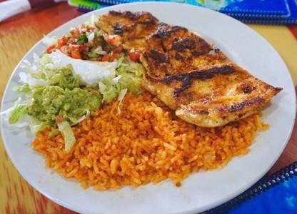 Pollo Asado from Casa Vallarta Mexican Restaurant in Eau Claire, WI