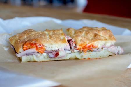 Hoboken Sandwich from Casetta in Madison, WI