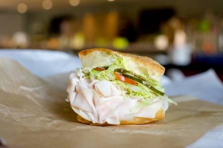 Turkey Sandwich from Casetta in Madison, WI