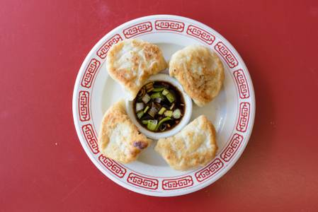 Dumpling (6) from Chan Garden in Ann Arbor, MI
