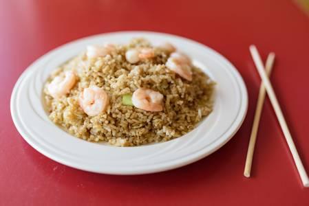 Shrimp Fried Rice from Chan Garden in Ann Arbor, MI