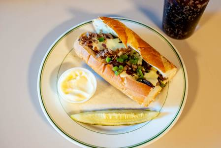 Cheese Steak Sub from Chili John's Restaurant in Green Bay, WI