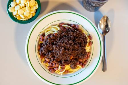 Super Bowl from Chili John's Restaurant in Green Bay, WI