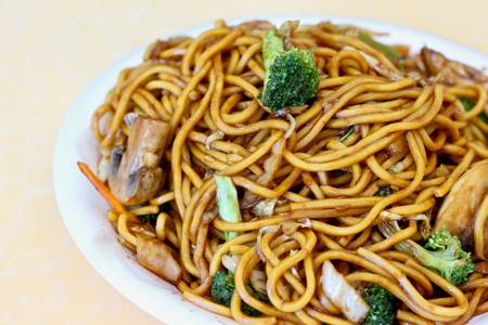 L14. Lo Mein Lunch from China Dragon in Richmond, VA