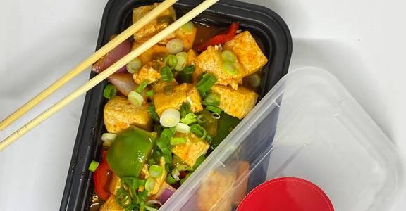 Chilli Tofu from Chopsey - Pan Asian Kitchen in Philadelphia, PA