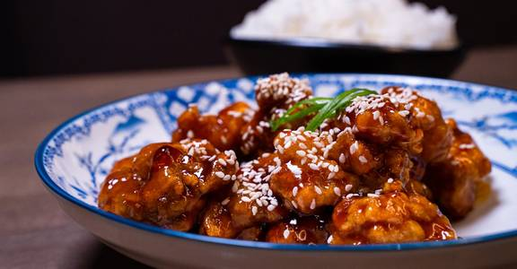 General Tso?s Chicken from Chopsey - Pan Asian Kitchen in Philadelphia, PA