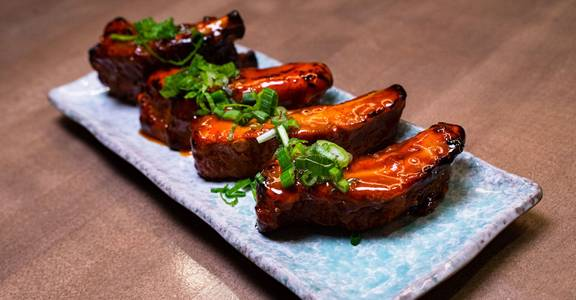 Glazed BBQ Baby Back Ribs from Chopsey - Pan Asian Kitchen in Philadelphia, PA