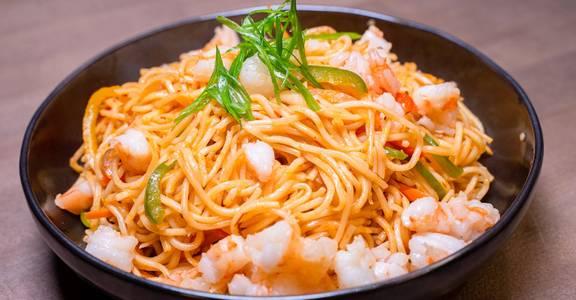 Shrimp Hakka Noodles from Chopsey - Pan Asian Kitchen in Philadelphia, PA