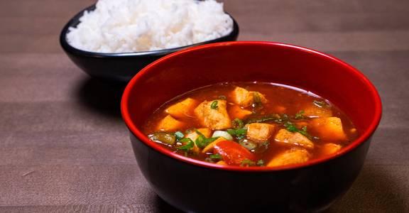 Tofu in Szechwan Sauce from Chopsey - Pan Asian Kitchen in Philadelphia, PA