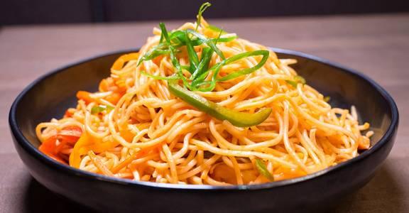 Vegetable Hakka Noodles from Chopsey - Pan Asian Kitchen in Philadelphia, PA