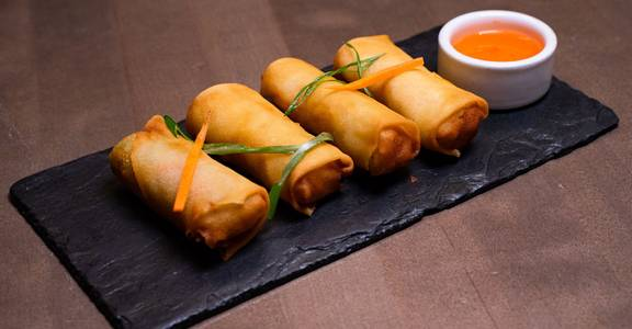 Vegetable Spring Rolls from Chopsey - Pan Asian Kitchen in Philadelphia, PA