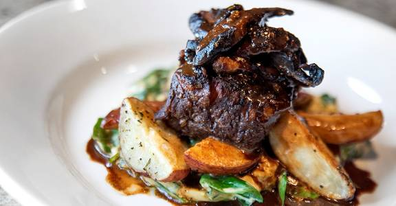 Cabernet Braised Angus Shortribs from CIRC in Madison, WI