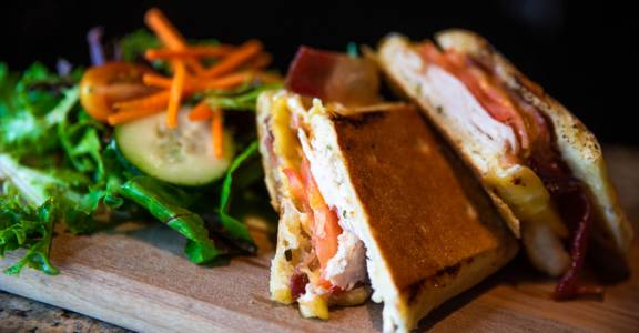 Roasted Turkey Panini from CIRC in Madison, WI