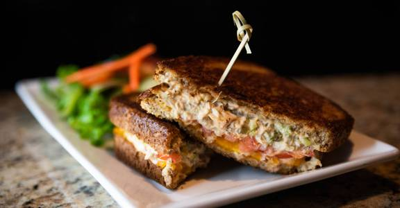 Tuna Melt Sandwich from CIRC in Madison, WI
