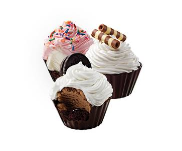 6 Pack Assorted Ice Cream Cupcakes from Cold Stone Creamery - Green Bay in Green Bay, WI