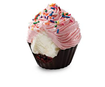 6 Pack Cake Batter Deluxe Cupcakes from Cold Stone Creamery - Green Bay in Green Bay, WI
