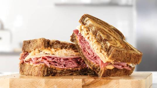 Reuben from Darby's Pub and Grille in Minneapolis, MN