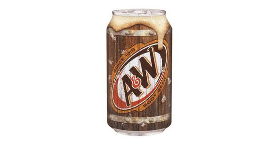 A&W Root Beer 12-Pack Cans (12 oz) from CVS - SW Wanamaker Rd in Topeka, KS