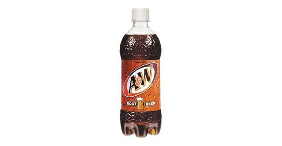 A&W Root Beer (20 oz) from CVS - SW Wanamaker Rd in Topeka, KS