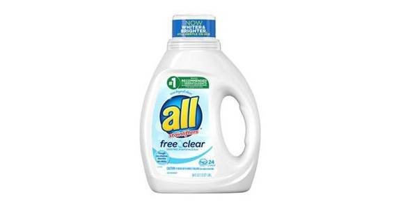 all Liquid Laundry Detergent Free Clear for Sensitive Skin (36 oz) from CVS - SW Wanamaker Rd in Topeka, KS