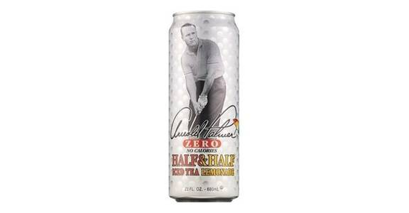 Arizona Arnold Palmer Zero Half & Half Iced Tea Lemonade Can (23 oz) from CVS - SW Wanamaker Rd in Topeka, KS