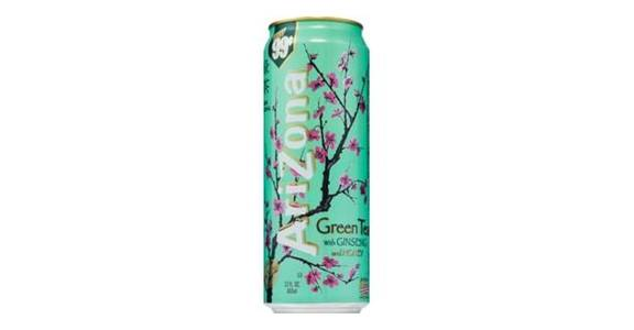 Arizona Green Tea (23 oz) from CVS - SW Wanamaker Rd in Topeka, KS