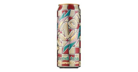 Arizona Iced Tea with Raspberry Flavor Can (23 oz) from CVS - SW Wanamaker Rd in Topeka, KS