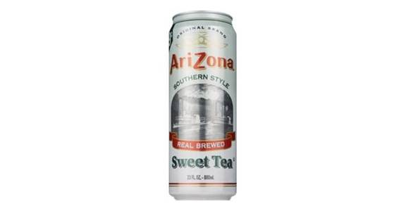 Arizona Sweet Tea Can (23 oz) from CVS - SW Wanamaker Rd in Topeka, KS