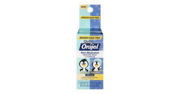 Baby Orajel Non-Medicated Cooling Gel (0.36 oz) from CVS - SW Wanamaker Rd in Topeka, KS