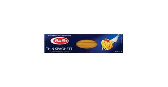 Barilla Thin Spaghetti No. 3 (16 oz) from CVS - SW Wanamaker Rd in Topeka, KS