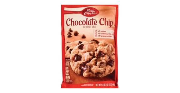 Betty Crocker Chocolate Chip Cookie Mix (17.5 oz) from CVS - SW Wanamaker Rd in Topeka, KS