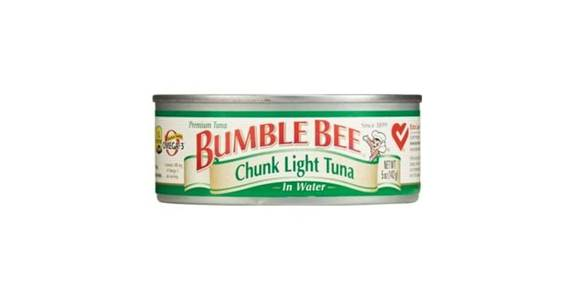 Bumble Bee Chunk Light Tuna In Water (5 oz) from CVS - SW Wanamaker Rd in Topeka, KS