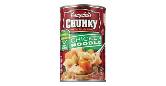 Campbell's Chunky Chicken Noodle Soup (18.6 oz) from CVS - SW Wanamaker Rd in Topeka, KS