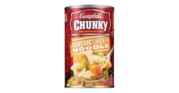Campbell's Chunky Classic Chicken Noodle Soup (18.6 oz) from CVS - SW Wanamaker Rd in Topeka, KS