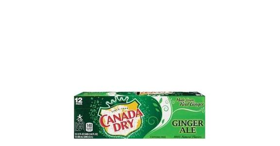 Canada Dry Ginger Ale 12 oz Can (12 pk) from CVS - SW Wanamaker Rd in Topeka, KS