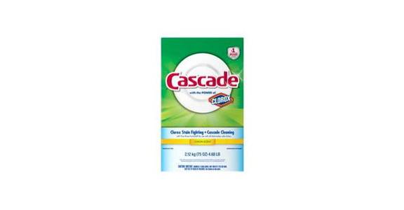 Cascade Powder Dishwasher Detergent Lemon Scent (75 oz) from CVS - SW Wanamaker Rd in Topeka, KS
