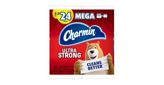 Charmin Ultra Strong Toilet Paper (6 ct) from CVS - SW Wanamaker Rd in Topeka, KS